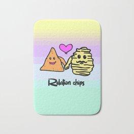 relation chips Bath Mat