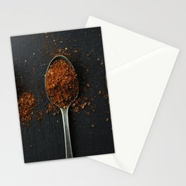 I have measured out my life with coffee spoons Stationery Cards
