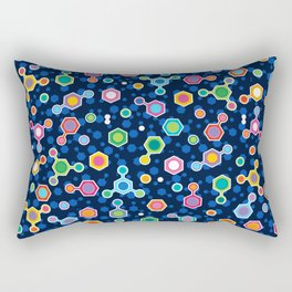 Hydrocarbons in Space Rectangular Pillow