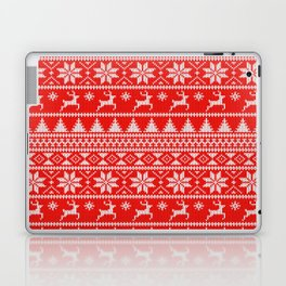Fair Isle Christmas Laptop & iPad Skin
