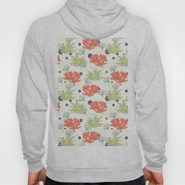 Succulent Pattern. no1 Hoody