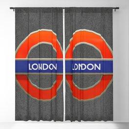 London City Tube Blackout Curtain