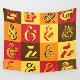Ampersands Wall Tapestry