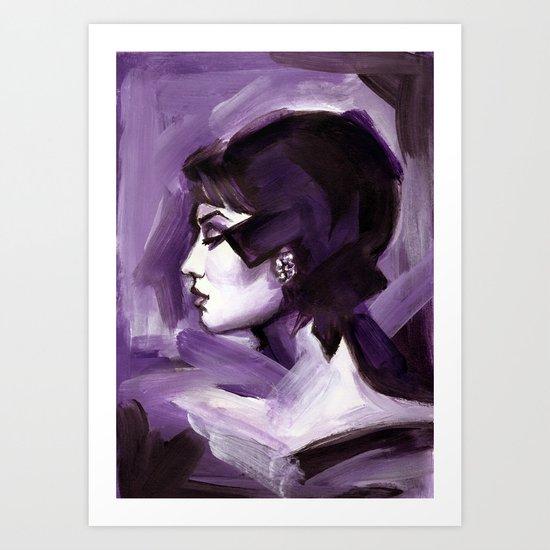 Lilas Art Print