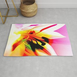 Abstract Of The Lily Rug