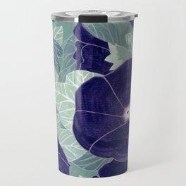 Dark florals Travel Mug