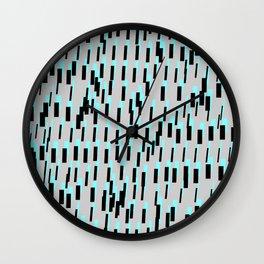 From Bold I to Italic I. Futura Wall Clock