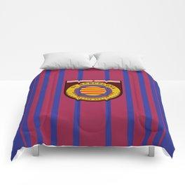 Catalonia Football Badge Comforters