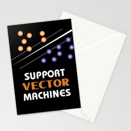 Machine Learning Support Vector Machines Stationery Cards