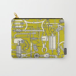 fiendish incisions chartreuse Carry-All Pouch