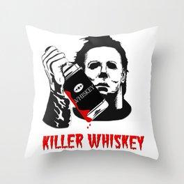 Halloween: Killer Whiskey Throw Pillow