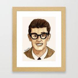 Buddy Holly Framed Art Print