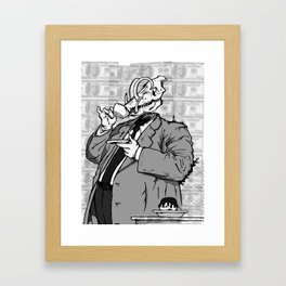 War (a) - noisrevbuS (1) Framed Art Print