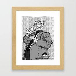 War (a) - noisrevbuS (1) Framed Art Print