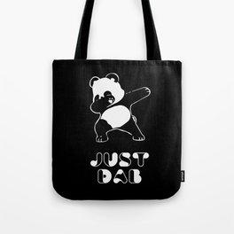 JUST DAB PANDA   Tote Bag