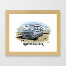 @puckvancamper Framed Art Print
