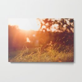 Sunset in the fortress Metal Print