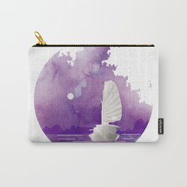 Halong Bay Vietnam Cruise under the Moonlight Carry-All Pouch