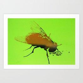 PSY FLY Art Print