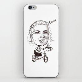 caricature Candice s iPhone Skin