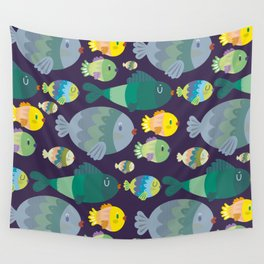 Fish pattern Wall Tapestry