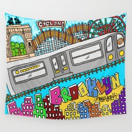 Brooklyn Stand Up Wall Tapestry