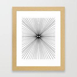 all seeing eye Framed Art Print