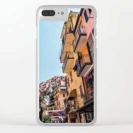 Vibrant Manarola Clear iPhone Case