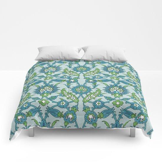Floral ornament Comforters