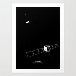 CHANG'E 2 Art Print