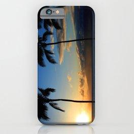 Alii Kahekili Nui Ahumanu Beach Maui Hawaii Sunset Kaanapali iPhone Case