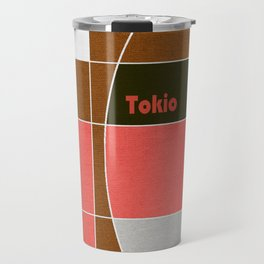 Tokio Mosaic Travel Mug