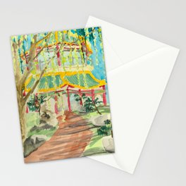 Path to the Pagoda Stationery Cards