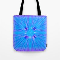 cracked Tote Bags featuring Cracked! by Shawn King