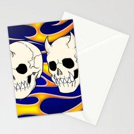 Hell Skulls Stationery Cards