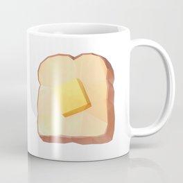 Toast with Butter polygon art Coffee Mug