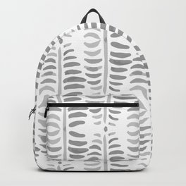 Helecho grey & white Backpack