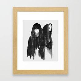 kaonashi (no face) Framed Art Print