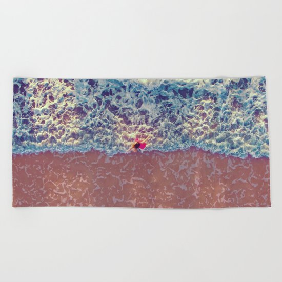 Summer Dancing Memories Beach Towel
