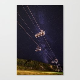 Waiting On Winter Canvas Print