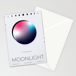 Moonlight Movie Poster Stationery Cards