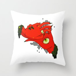 Give a Hand Throw Pillow