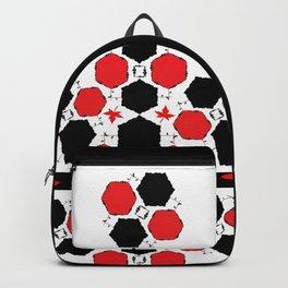 Red Black Backpack
