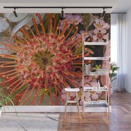 Pincushion Protea Wall Mural