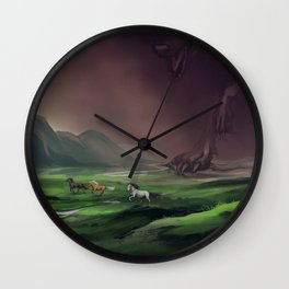Fenrisulven Wall Clock