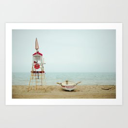 milwaukee beach Art Print