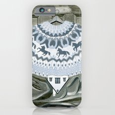 Sweater with Horses iPhone 6s Slim Case