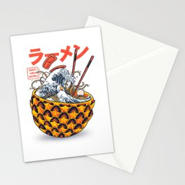 Great vibes ramen Stationery Cards