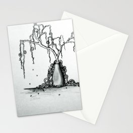Wilted Plant Stationery Cards