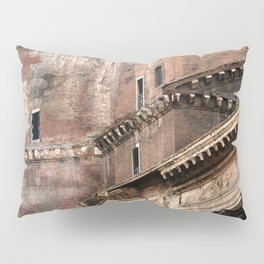 Pantheon of Rome Side View Pillow Sham